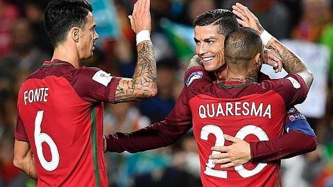 KELAYAKAN PIALA DUNIA 2018 Belgium berpesta gol, Portugal benamkan Latvia