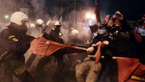 Lawatan Obama ke Greece dibantah