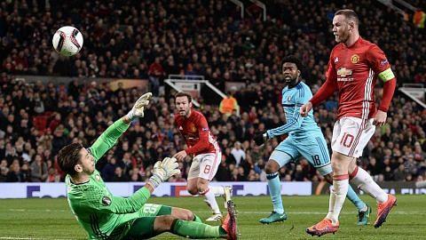 Rooney jadi penjaring terbanyak, cerahkan harapan Man U