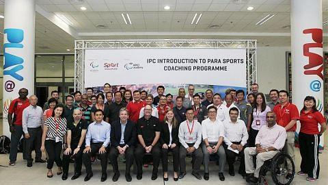 Kerjasama antarabangsa bagi rangsang tahap profesionalisme sukan Paralimpik Singapura
