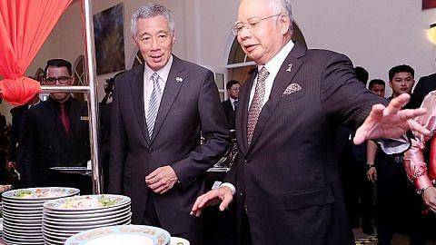 PASCA RAHAT PEMIMPIN SINGAPURA-MALAYSIA Pencapaian dalam pelbagai bidang lambang hubungan kukuh dua negara