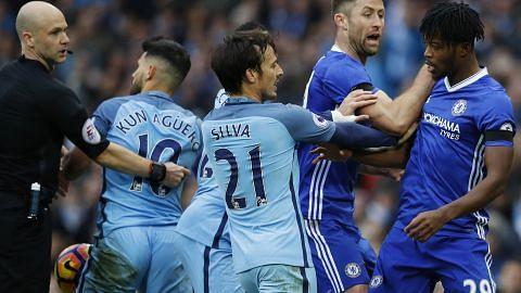 City dan Chelsea didenda kerana bergaduh