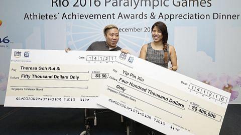 Goh dan Yip akan terus bertanding lepas kejayaan di Paralimpik Rio SUKAN PARALIMPIK