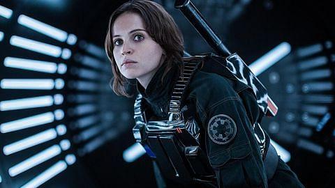 Star Wars terbaru popularkan Felicity Jones