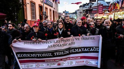 Turkey giat buru suspek