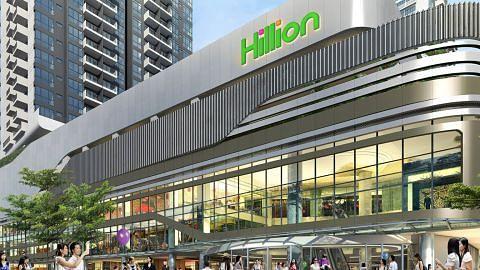 Hillion Mall di Bt Panjang dibuka 24 Februari
