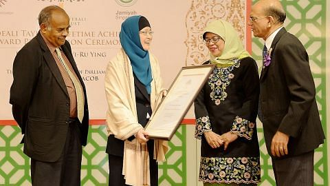 Profesor Jackie Ying wanita pertama diiktiraf anugerah