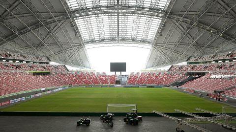Perlawanan pembukaan tirai akan diadakan di Stadium Negara