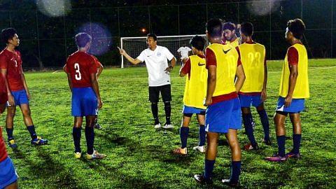 25 pemain muda terpilih latih di bawah bimbingan Fandi