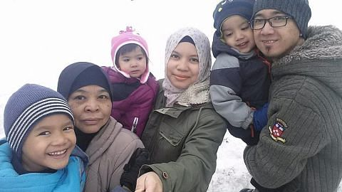 Ke Canada bawa isteri, anak dan mentua sekali