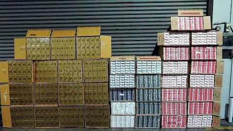 Kastam rampas 25,500 kotak rokok elak cukai lebih $2.5 juta