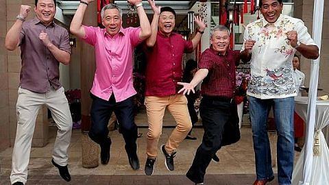 PM Lee lahirkan penghargaan kepada pemimpin akar umbi di rumah terbuka