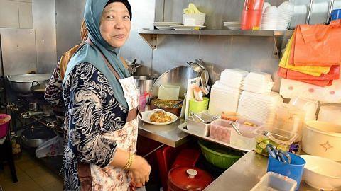 Satu-satunya gerai Melayu di Tiong Bahru