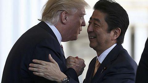 Trump, Abe ikrar ikatan dagangan dan keselamatan lebih kukuh