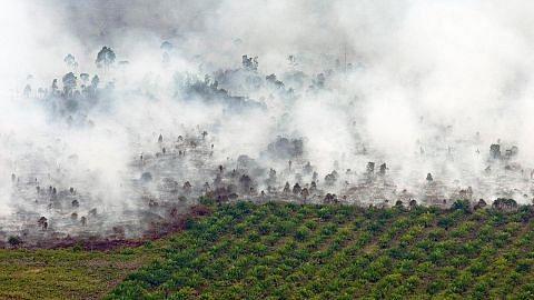 Titik panas di Riau... sedang kawasan lain Indonesia alami hujan lebat
