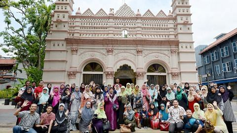 Penduduk Woodlands singkap sejarah Nagore Durgha, Masjid Ba'alwie
