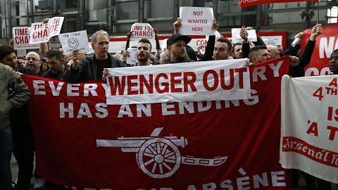LIGA PERDANA ENGLAND Wenger mahu keputusan positif