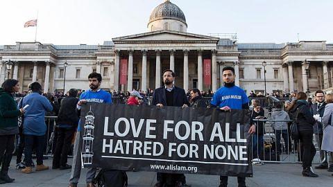 Muslim Britain berdiri teguh