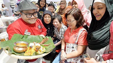 Peserta teruja saksikan demo masak Cef Mel