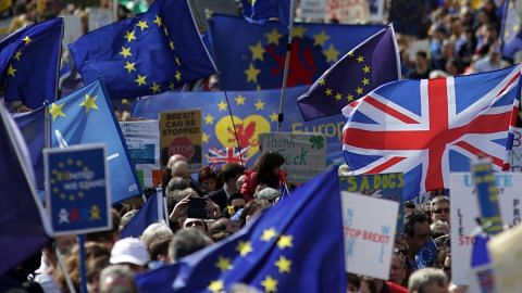 Pekerjaan kewangan Britain diancam Brexit EKONIAGA