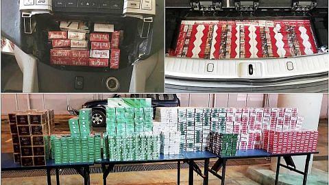 ICA rampas lebih 300 karton rokok tidak dibayar cukai