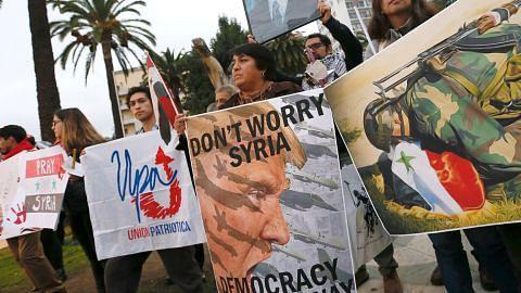Pentagon: Sah Syria guna senjata kimia