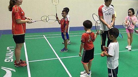 Akademi SBA, ActiveSG perluas usaha ajar badminton kepada kanak-kanak BADMINTON