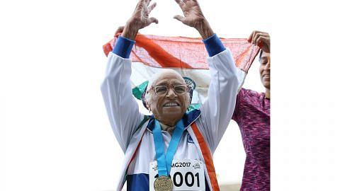 Lelaki 101 tahun raih pingat emas