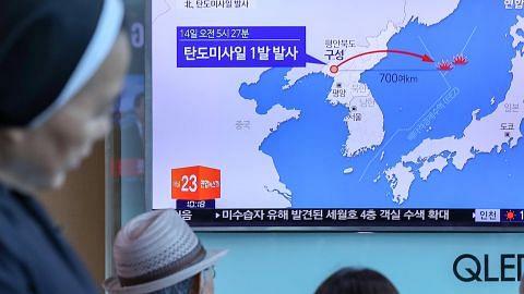 Korea U lancar peluru berpandu jarak jauh
