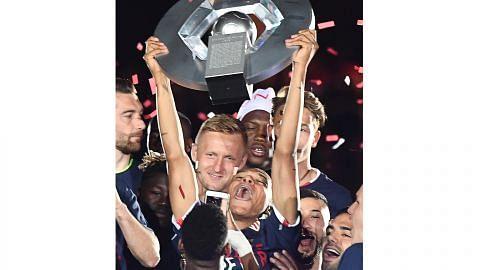 Mbappe cemerlang bantu Monaco jadi juara kali pertama dalam 17 tahun LIGUE 1