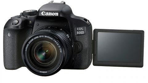 EOS 800D ringan, padat tetapi penuh ciri canggih