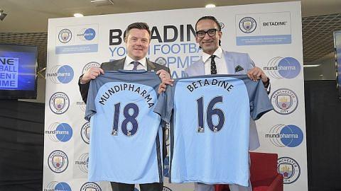 BOLA SEPAK SETEMPAT Manchester City siap bimbing pemain muda Singapura