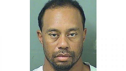 Woods ditangkap tidur dalam kereta