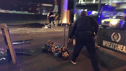 7 maut dalam serangan ganas di London