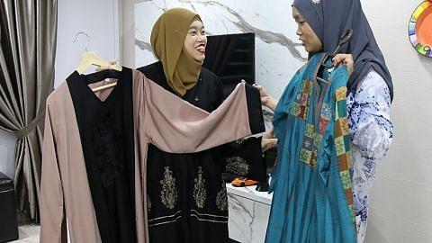 Barang Raya siap sebelum anak bulan Ramadan jelma