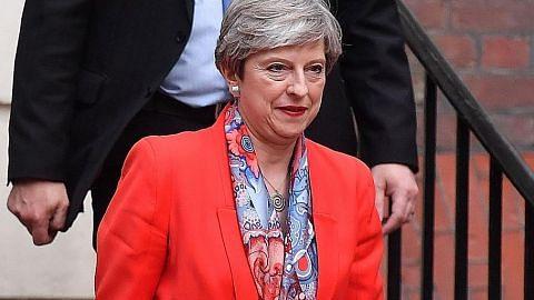 PILIHAN RAYA BRITAIN May diramal hilang majoriti, hadapi tekanan letak jawatan