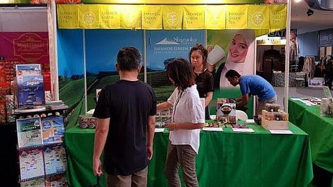 Wakil Jepun perkenal teh hijau wilayah Shizuoka