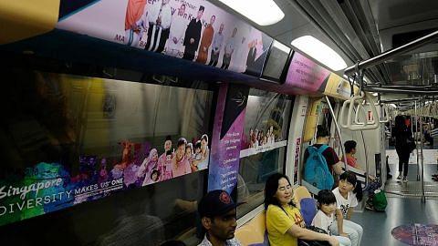 Sebar mesej keharmonian kaum dalam MRT