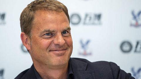 Frank de Boer mahu jadikan Palace kelab mapan LIGA PERDANA ENGLAND