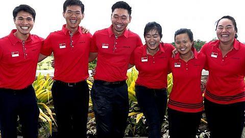 Pengalaman bekalan pasukan golf buru emas