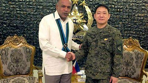 Shanmugam lawat Filipina