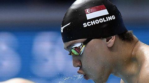 KEJOHANAN AKUATIK DUNIA Dapatkah Schooling jadi juara dunia?