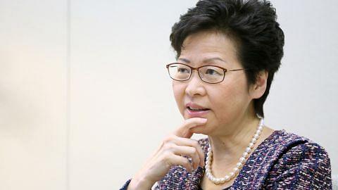 Ketua Eksekutif HK lawat Singapura