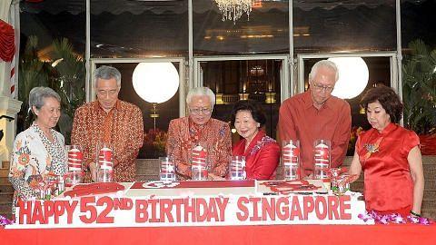 Presiden Tony Tan hos jamuan malam Hari Kebangsaan