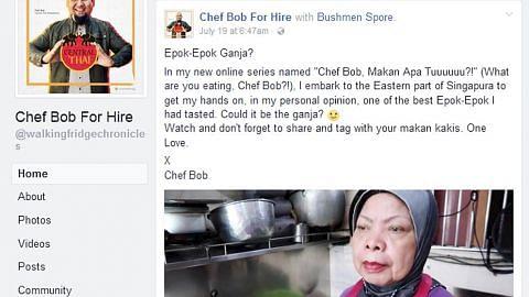 Cef Bob buat video cuba bantu peniaga makanan