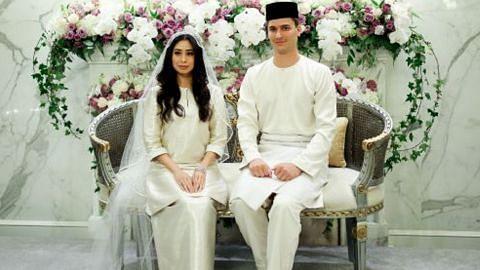 Majlis nikah penuh istiadat pengantin diraja Johor