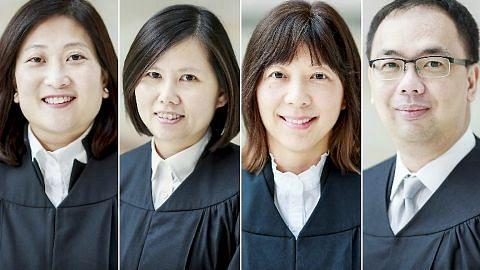 Empat Pesuruhjaya Kehakiman dilantik hakim Mahkamah Tinggi