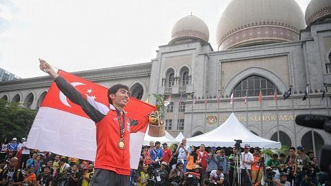 Soh berjaya pertahan emas maraton