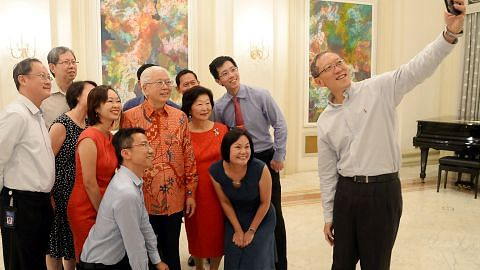 Presiden Tony Tan hargai sokongan kakitangan menjelang pengunduran