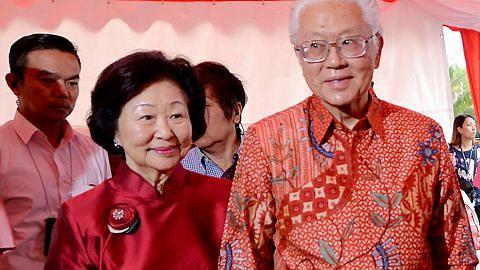 Dr Tony Tan amat hargai sokongan isteri